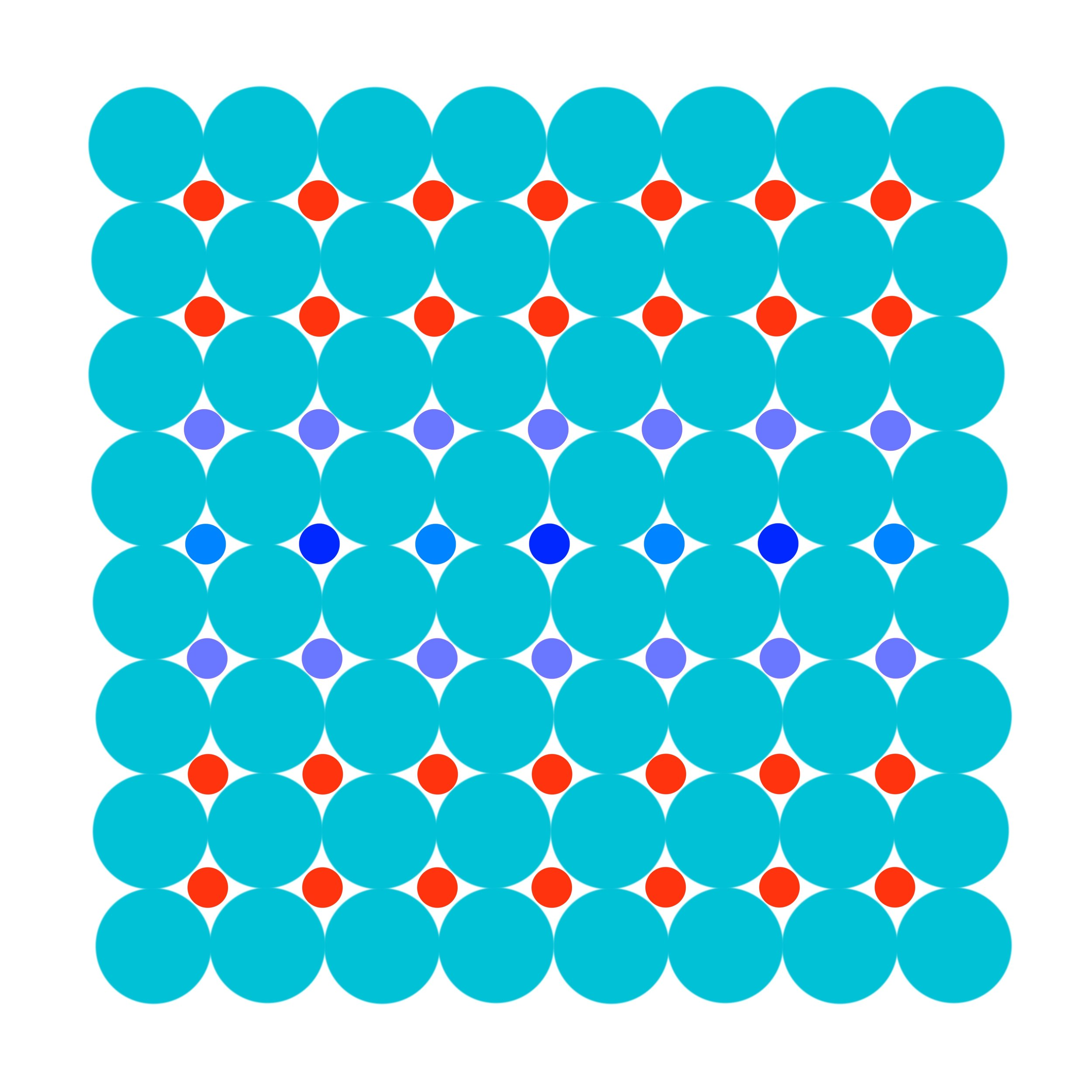 Dot Structure 2 - French Blue