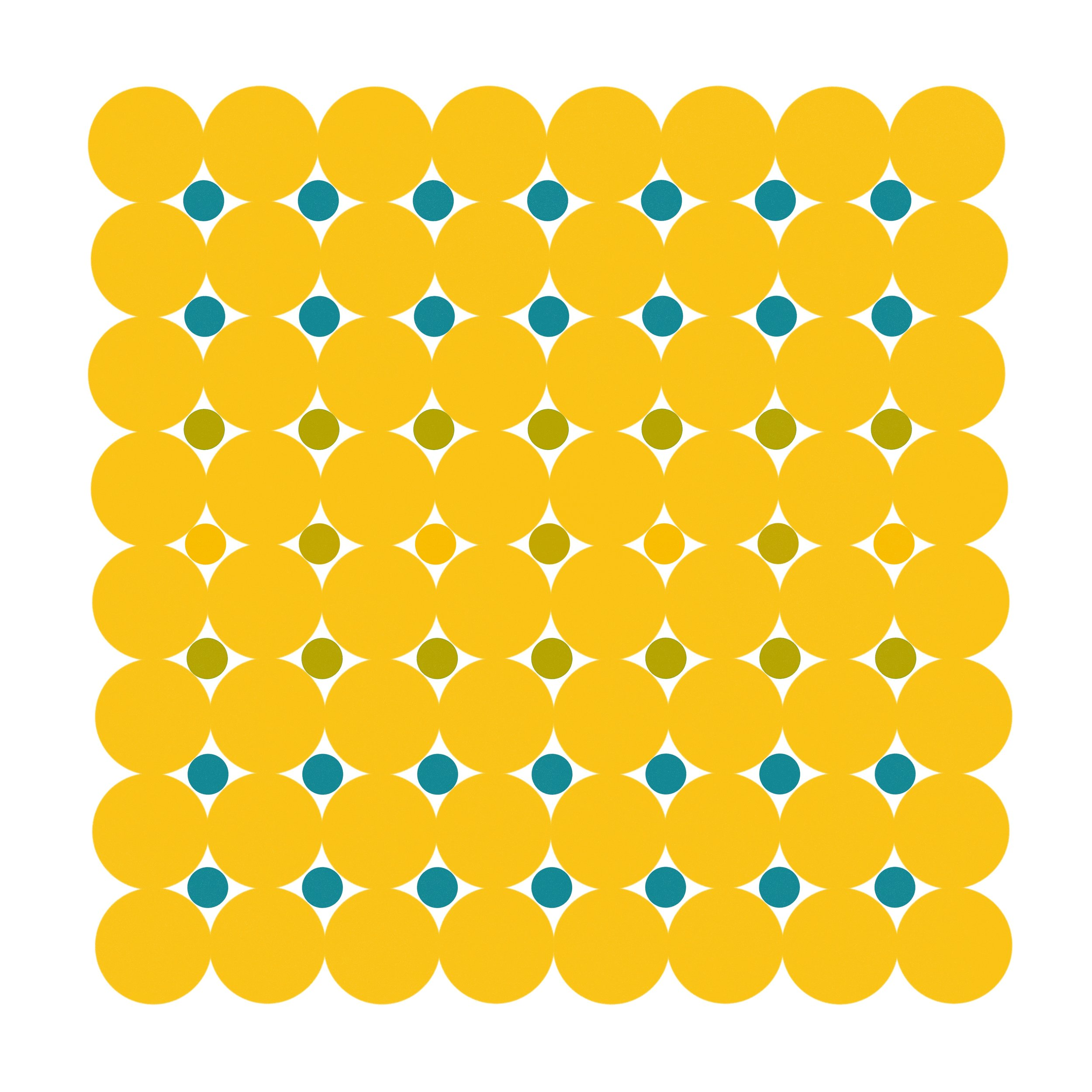 Dot Structure 5 - Gold