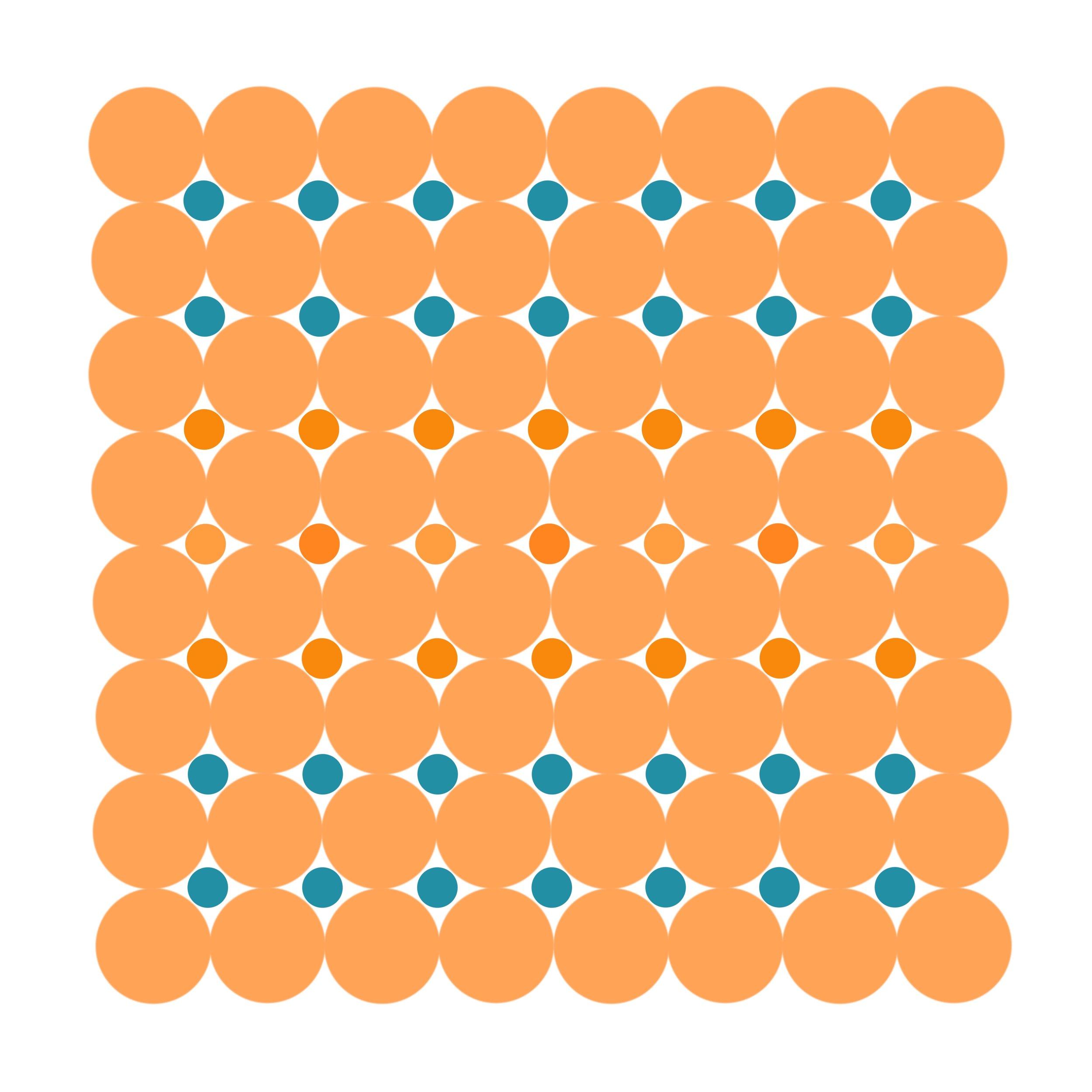 Dot Structure 7 - Sweet Orange