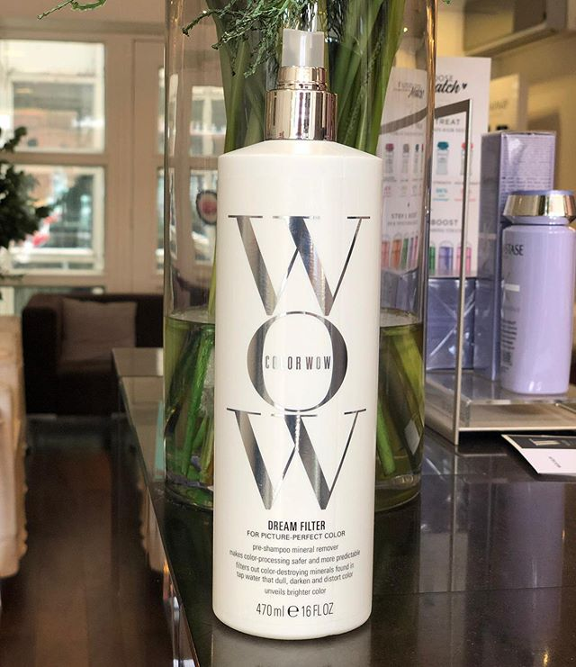 🚨New treatment alert🚨  WOW DREAM FILTER  THIS IN-SALON TREATMENT WORKS LIKE A MAGNET IN UNDER 3 MINUTES TO EXTRACT • Color-distorting elements found in tap and well water • Metals that interfere with color processing • Minerals that leave a dulling film on hair and make your hair feel stiff, coarse and rough . . . . #hair #hairstyle #instahair #hairstyles #haircolour #haircolor #hairdye #hairdo #haircut #longhairdontcare #fashion #straighthair #longhair #style #straight #curly #blonde #brunette #hairoftheday #perfectcurls #hairfashion #hairofinstagram #wowdreamfilter #dublin #donnybrook #colorwowhair #dublinsalon #dublinblonde #blondehairdontcare
