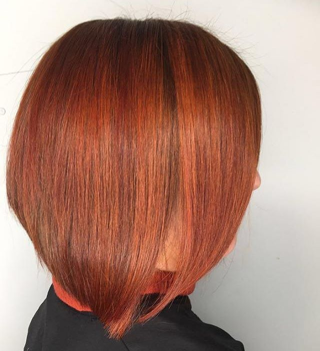 Color and haircut by Lesley