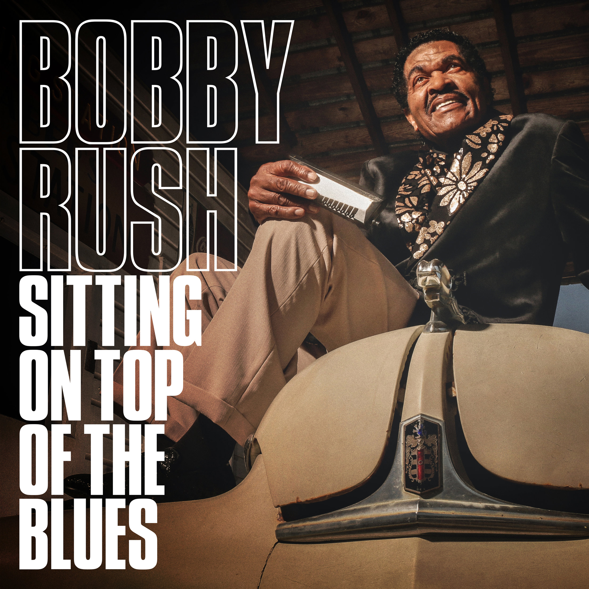 Sitting On Top of The Blues - Bobby RushAugust 16, 2019Deep Rush Records /Thirty Tigers
