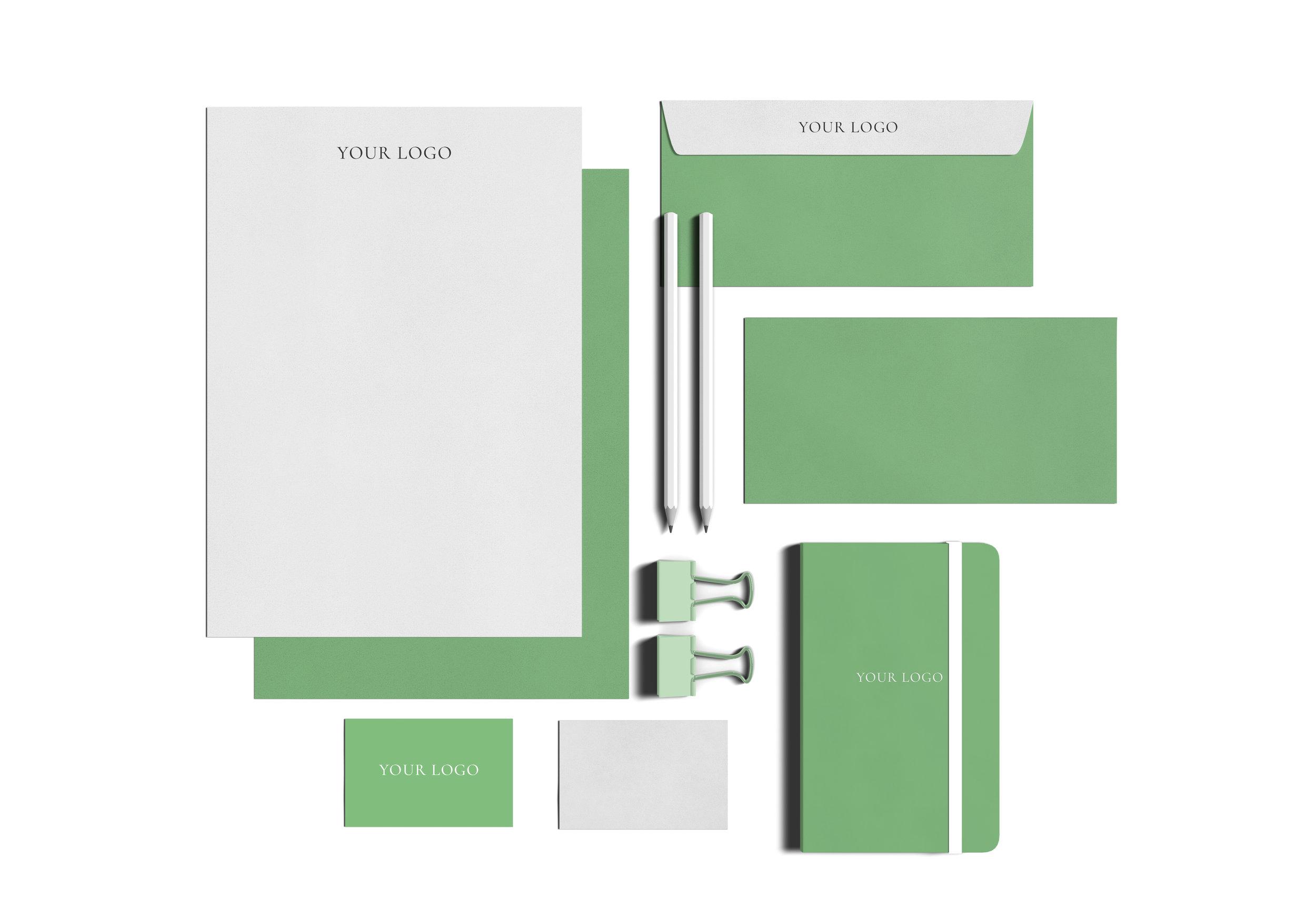 Brand consistency example by White Box Design Studio