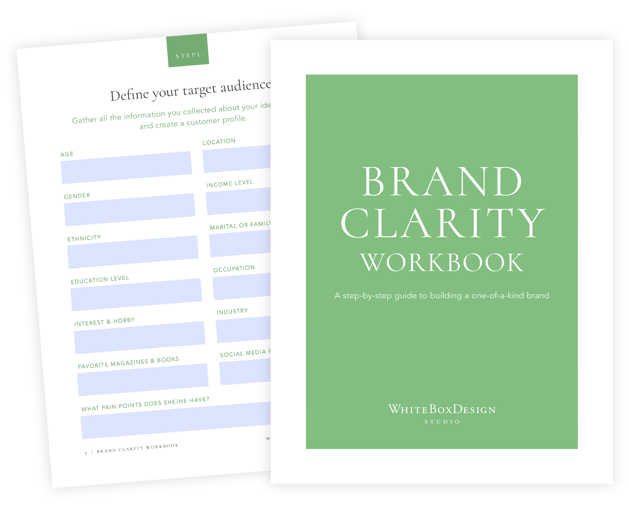 Brand Clarity Workbook by WhiteBoxDesignStudio