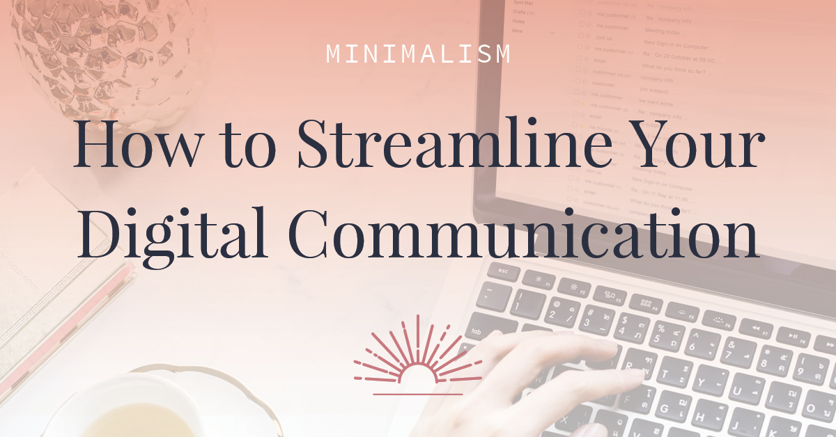 Are you a business owner who's still getting bogged down in your inbox? Read this article to learn how to get organized and streamline your digital communication. Be the boss of your inbox, not the other way around!