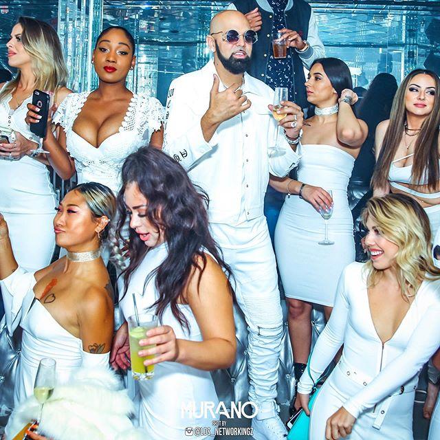 Cheers to us 🥂 #Murano #Nightclub #LosAngeles #WestHollywood #Nightlife #Lifestyle #MuranoTuesdays 💎💎💎 #MuranoMondays 🛶#MuranoFridays 💎💎💎 #MuranoSaturdays 🎭