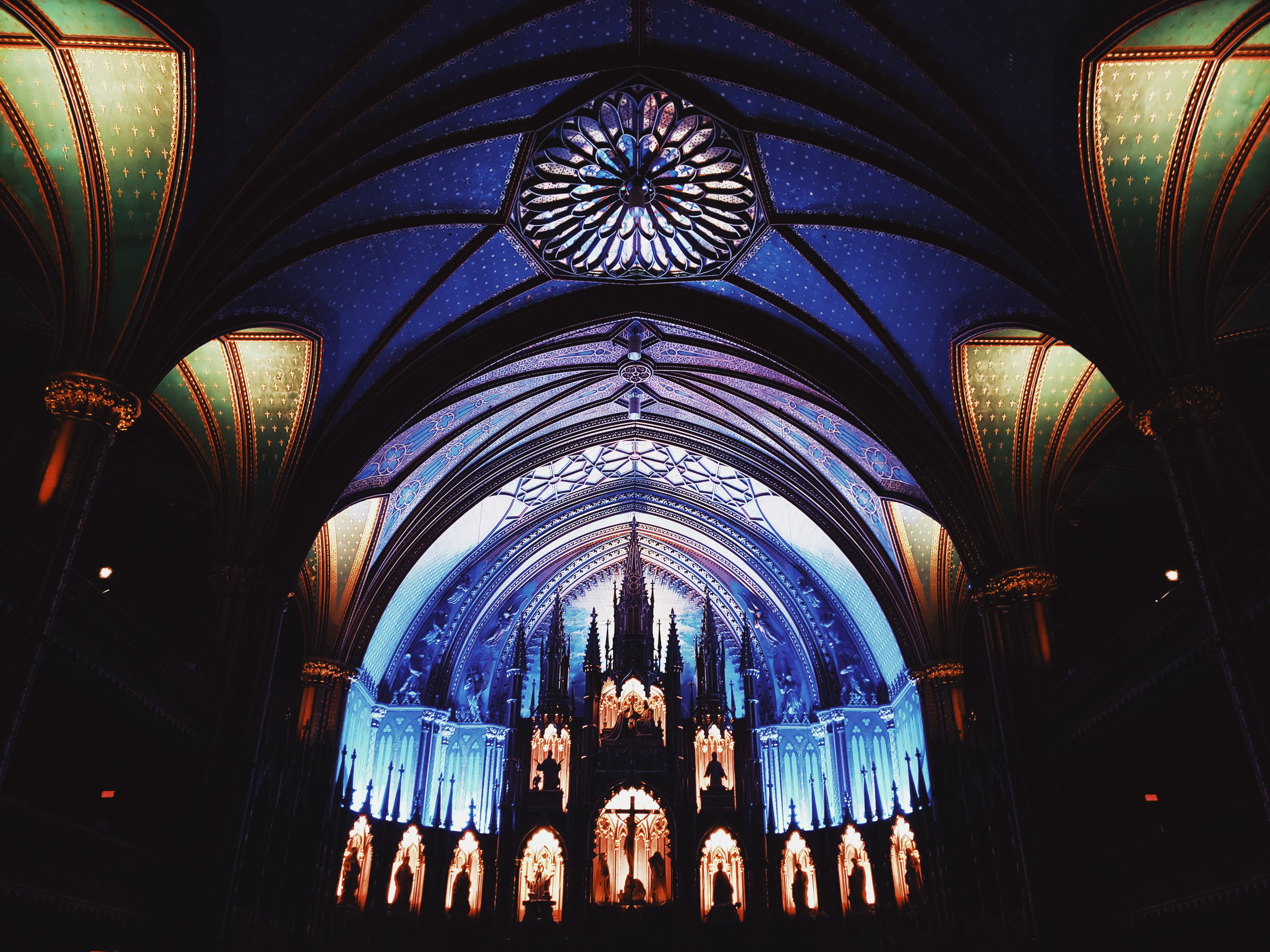 The majestic Basilique, Notre-Dame Cathedral.