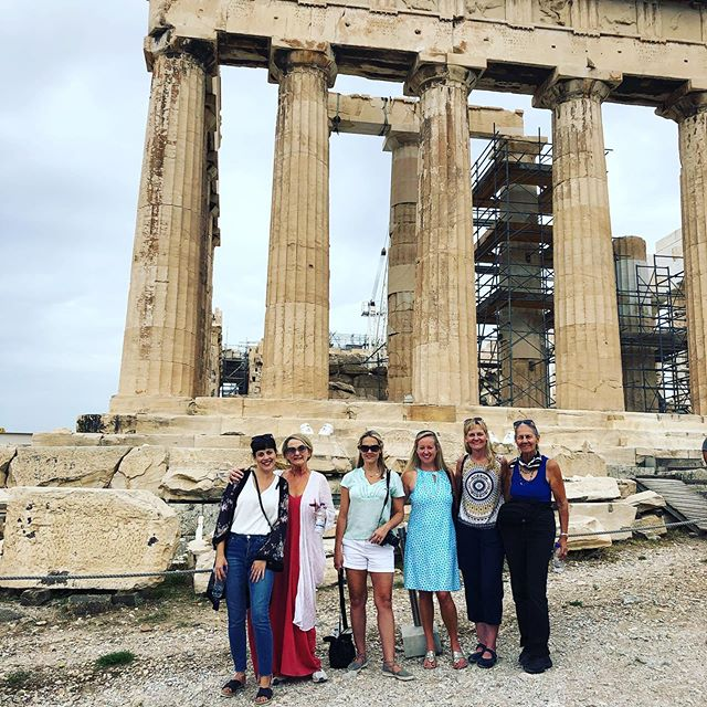 Amazing tour of the Acropolis today in Athens!  Our fantastic guide,  Katerina, made history come to life!  Thanks @travelivecom  for a fantastic time in Athens! #nashvilleluxurytravel #travelive #greece #athens #acropolis