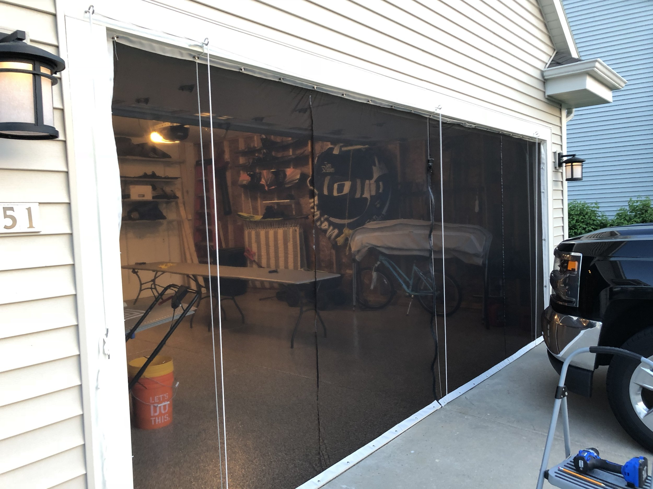 Garage Door Bug Screen