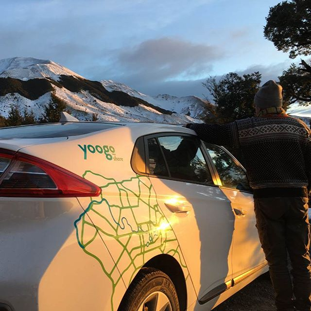 Liz took Jacinda out to Mt Lyford... Check out the @nzstuff story to find out what it's like to take a Yoogo Share EV on a road trip. Link in bio 🔗  #carsharing #electriccarsharing #evshare #sustainability #sustainablenz #sustainabletravel #sustainableliving #zeroemissions #hyundai #ioniq #newzealand #southisland #christchurch #mtlyford #roadtrip #mountain #snow #skifield #culverden #darfield #oxford #hamnersprings #plugshare #chargenet #southislandroadtrip