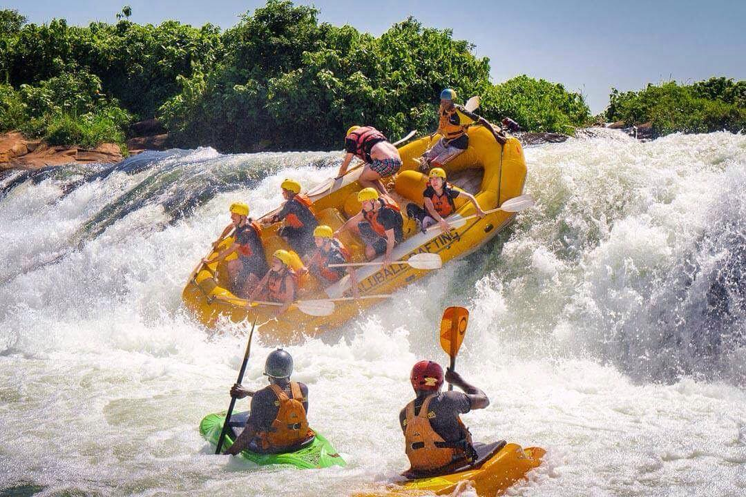 Weekend Package #1& 2 Basic. - Weekend package option 1 includes 2 nights dormitory accommodation at the Nile River Camp and costs $195pp , it picks up from Kampala on the Friday evening and drops back on the Sunday evening. It includes a full day whitewater rafting on either the Saturday or Sunday (you choose), all meals including a BBQ on Saturday night at the Nile River Camp. This option with the Friday evening pickup requires a minimum of 4 people.Package option 2 is the same as package 1 but picks up from Kampala on the Saturday Morning instead of the Friday evening. This is a good option if you are travelling alone or in a smaller group and has no minimum group size. This package with one night accommodation, all meals including the famous NRC BBQ is $165