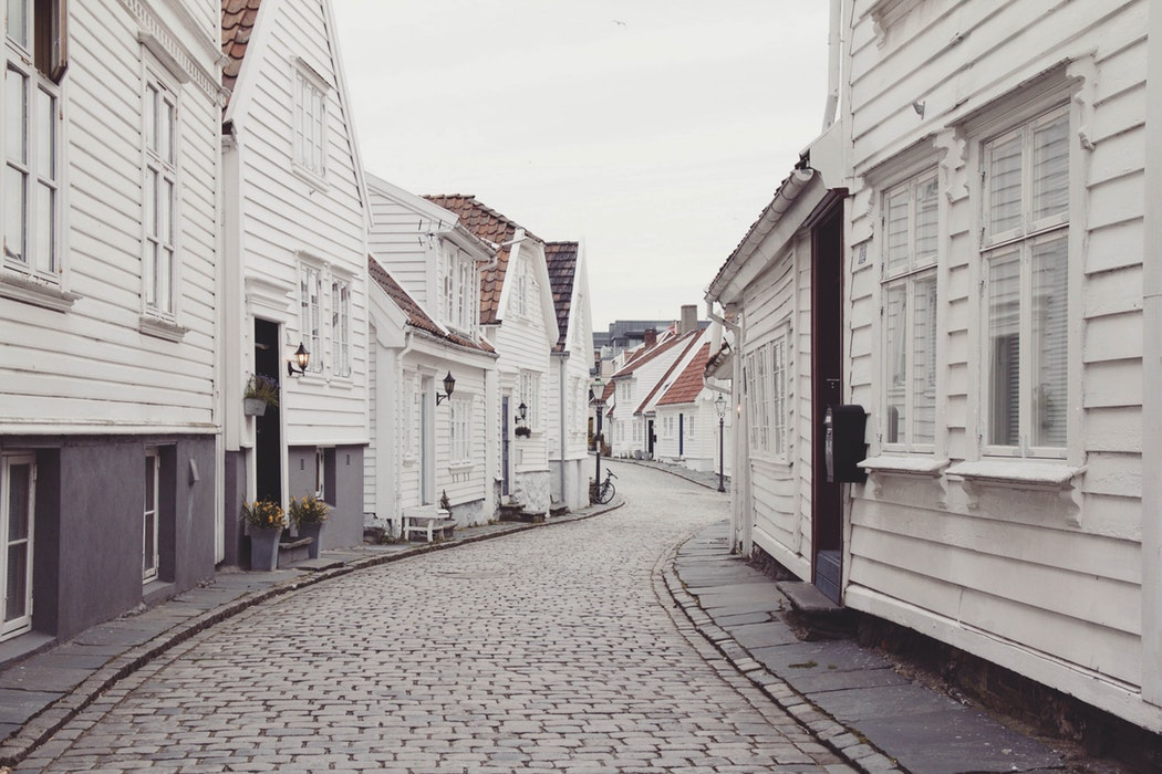 Minimalist Scandinavian Streets