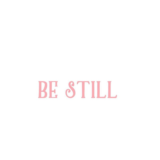 Just a little Tuesday reminder to look for stillness, in case your weekday is a bit hectic or quick-paced today. 💕 Much love