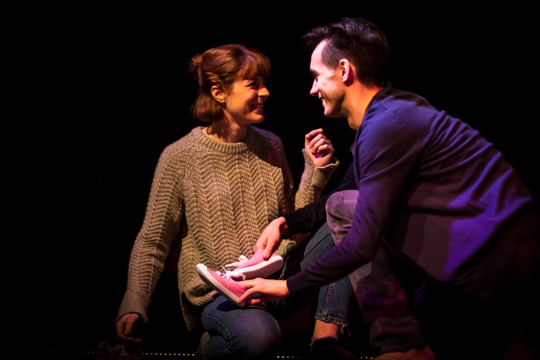 Rhiannon Sommers (Jane), Joe Eyre (Alan)