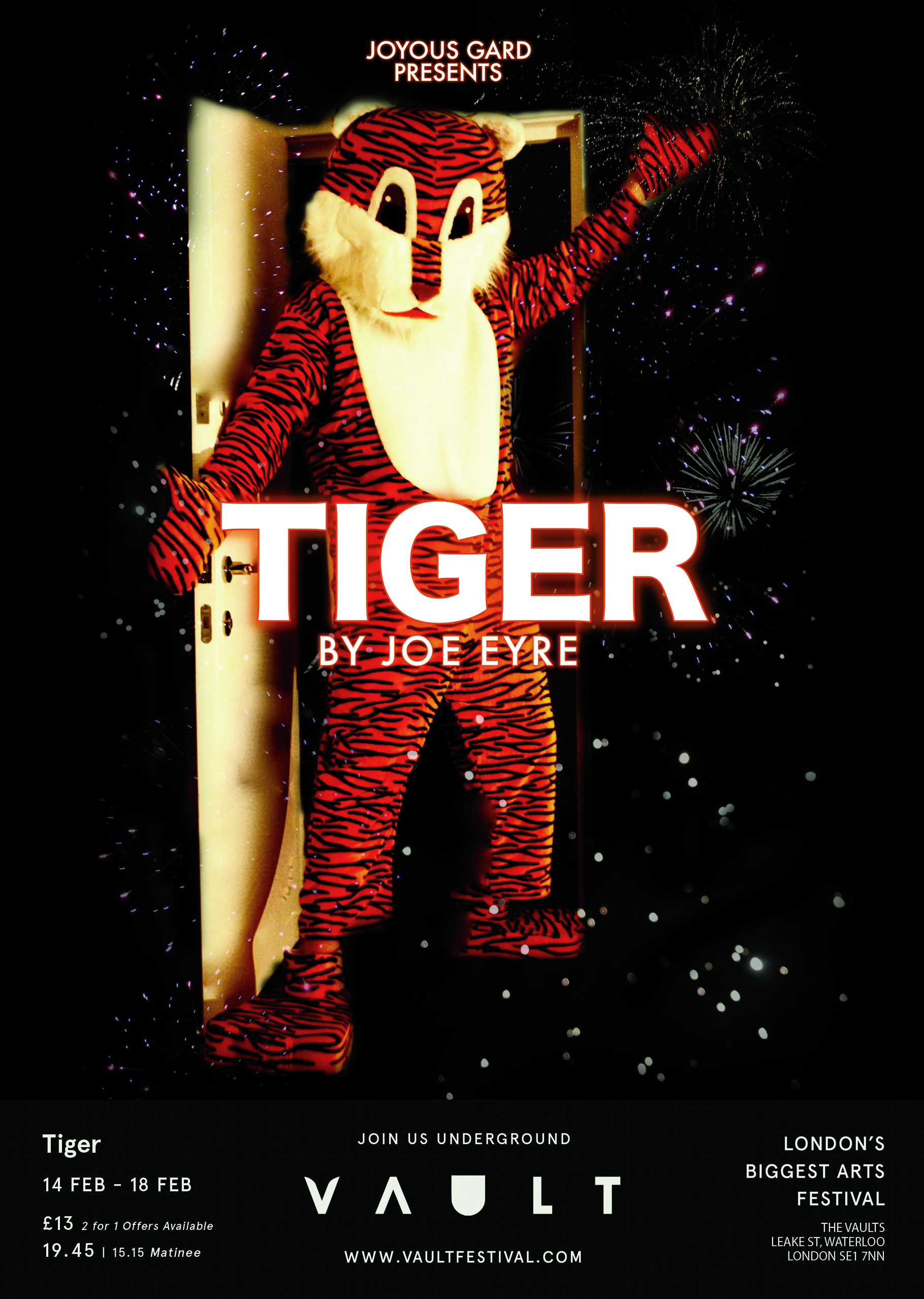 Tiger by Joe Eyre