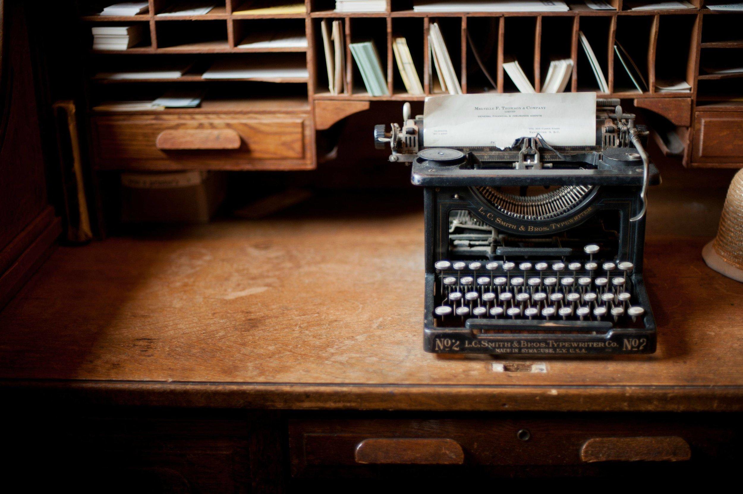 Author and Screenwriter -