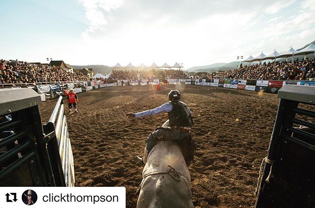 Coming this Fall a special look at the 5 Time @pbr event of the year!! None other than #PBR #BigSky #Repost @clickthompson ・・・ A little #throwback to beautiful night not so long ago!! #pbr #bigsky is a one of a kind event in a one of kind location!! If you've never been, you gotta go!! @nodfreemag #clickthompsonphotography #bullstockmedia #freestoneproduction #montana #mt #tbt #throwbackthursday