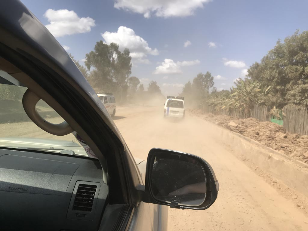 Veien fra Hawassa til Yirgacheffe