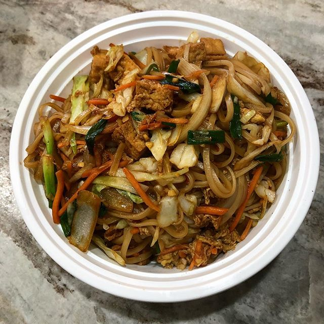 Beat the rainy day have some delicious Pad Thai delivered to you! #whatthefriedrice #eatfriedrice #yummy