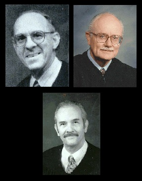 2000 - Judge John Ingro · Judge Fred Mandabach · Judge Rufus L. Yent