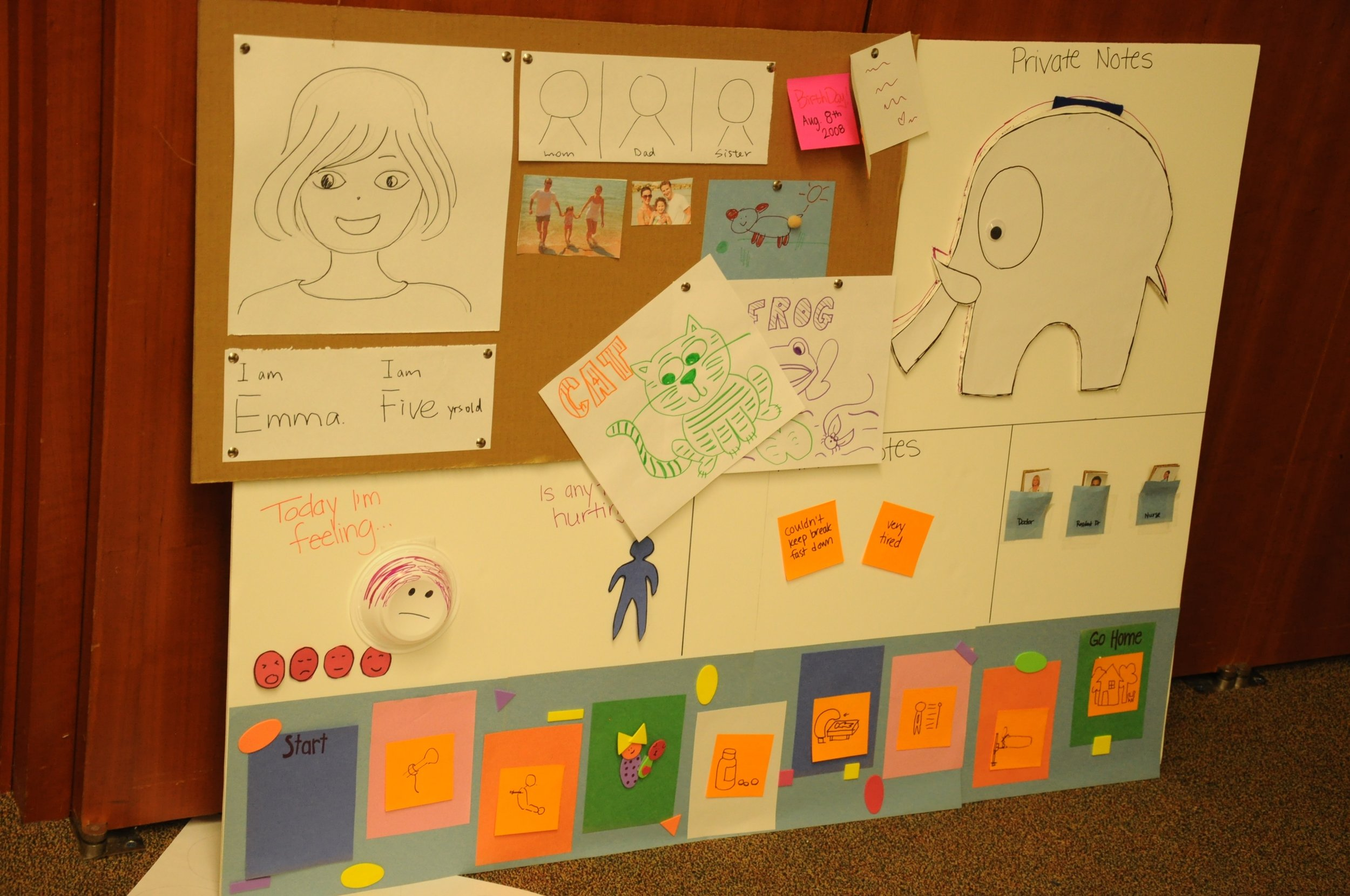 2013 DESIGN Challenge - Northwestern - Designing For a Child's Experience of Clinical Rounds