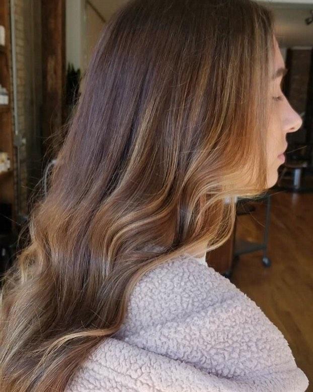 Subtle hair painting [Jessica] #donewithdavines #fleetstreetlex  #davines