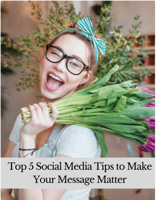 For most small-business owners, one of the top challenges they face in today's digital world is knowing how to effectively use social media as a marketing tool.When you have a million other things to do in your day, finding time to stay up to date on the ever changing social media trends probably isn't happening.Let's Do This Together! In our guide, the Top 5 Social Media Tips to Make Your Message Matter, we share quick, actionable tips that will help you more fully engage with your audience, maximize the impact of your message and increase your brand awareness! -