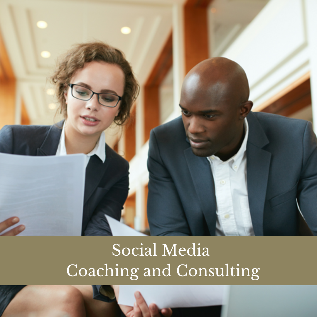 SOCIAL MEDIA & BRAND MANAGEMENT COACHING - For the savvy business owner … who wants to move their business forward with confidence and net results!