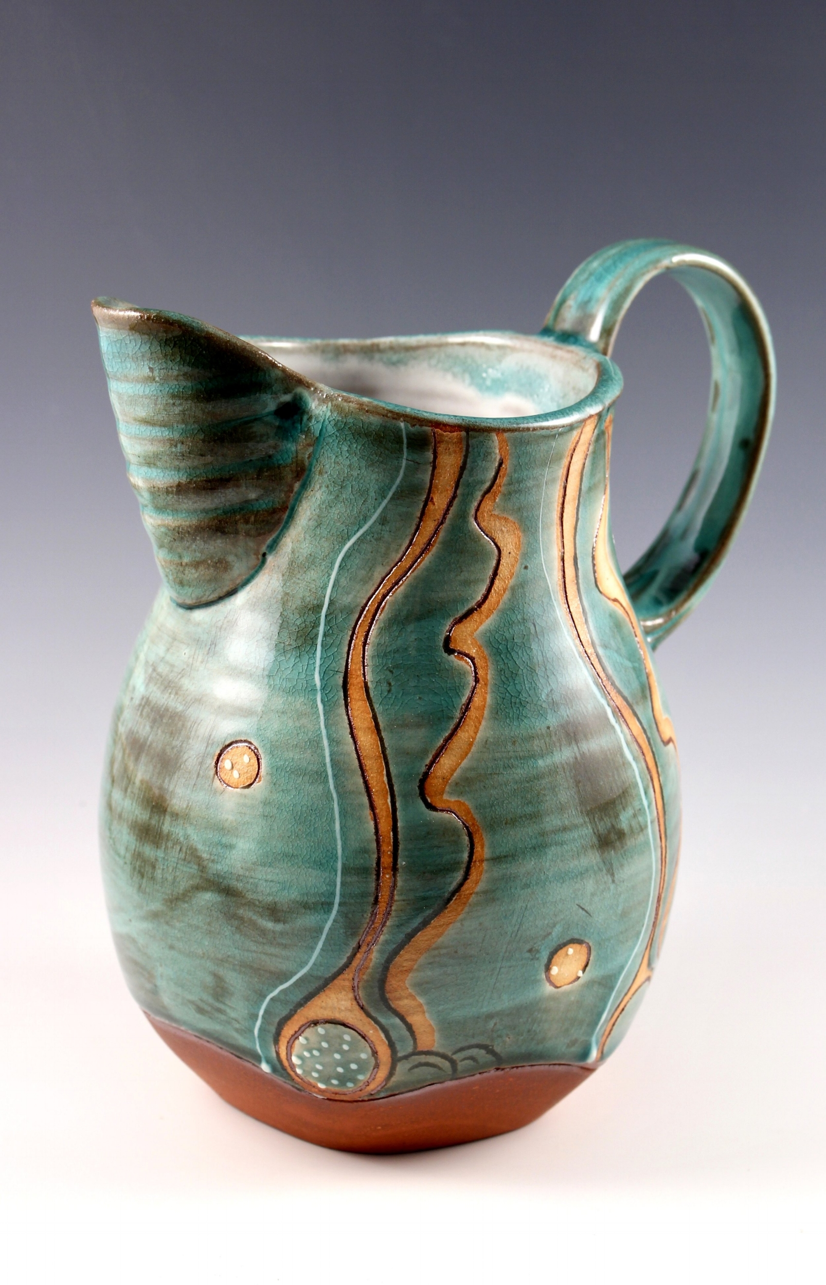 green pitcher