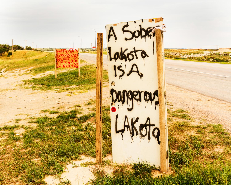 """""""Lakota Warning"""" July 28th, 2013 between Pine Ridge, SD and White Clay, NE"""