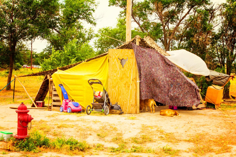"""White Clay Sobriety Camp"" July 28th, 2013 between Pine Ridge SD and White Clay NE"