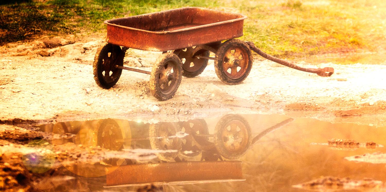 """""""Hiawatha Chariot"""" May 10th, 2014 Porcupine, SD"""