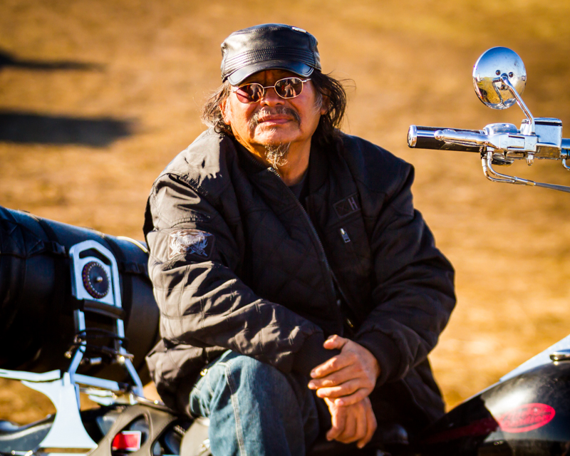 """""""Truckin' Bear"""" September 17th, 2016 at Oceti Sakowin on the Standing Rock Sioux Reservation near Cannonball, ND"""