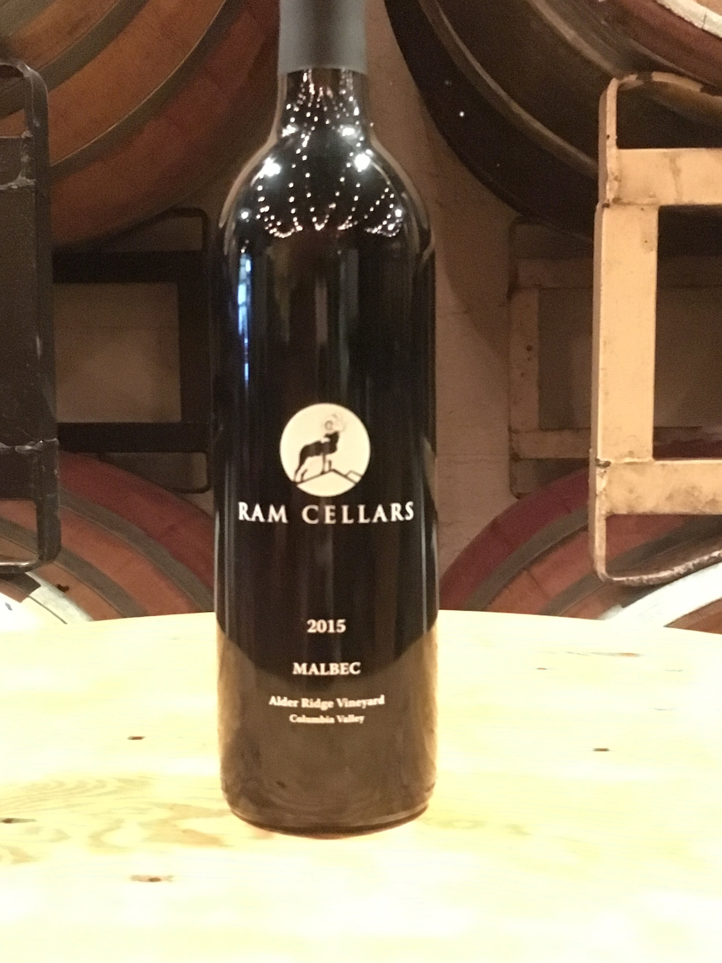 2015 MALBEC $25 (SOLD OUT!)Bold yet supple,this wine exhibits aromas of black cherry, mission fig, and leather. Rhubarb pie, strawberry hard candy, and sour cherry flavors abound, balanced by a hint of brown sugar and well structured tannins. This wine has some serious aging potential and pairs well with steak, lamb, charcuterie, dark chocolate, and family and friends! - Alder Ridge Vineyard, Washington State, 70 cases produced