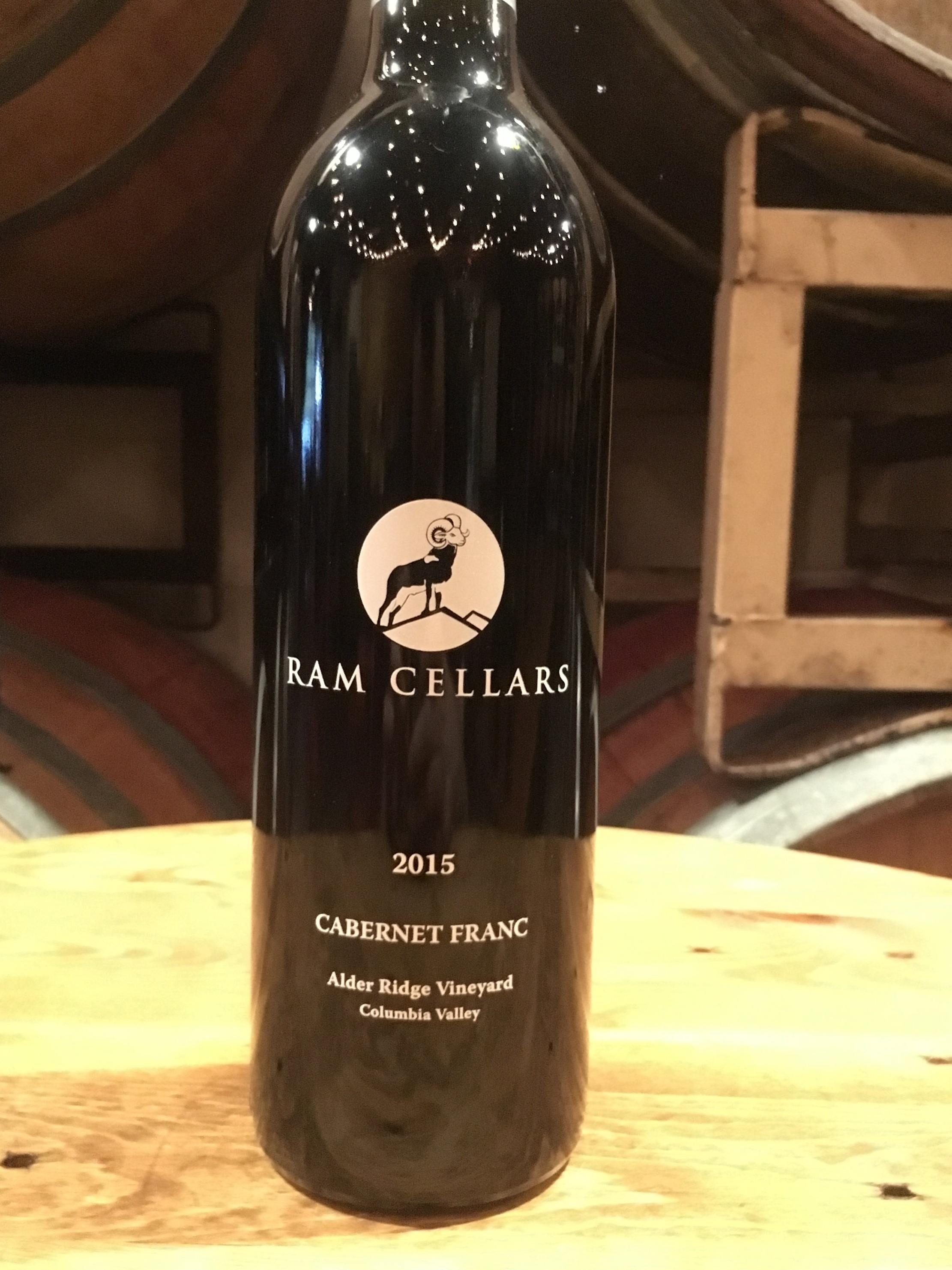 2015 Cabernet Franc$25 (SOLD OUT!)Our 2015 Cabernet Franc brings intrigue to your glass right from the start. Aromas of black currant, under-ripe raspberries, and jalapenos give way to flavors of sweet bell pepper, tobacco leaf, green peppercorn, and black currant jam. Drinkable now, this wine has outstanding aging potential! Balanced and approachable, this wine pairs well with friends and family, as well as poultry, lamb, pork, pasta, and grilled beef! - Alder Ridge, Washington State, 70 cases produced