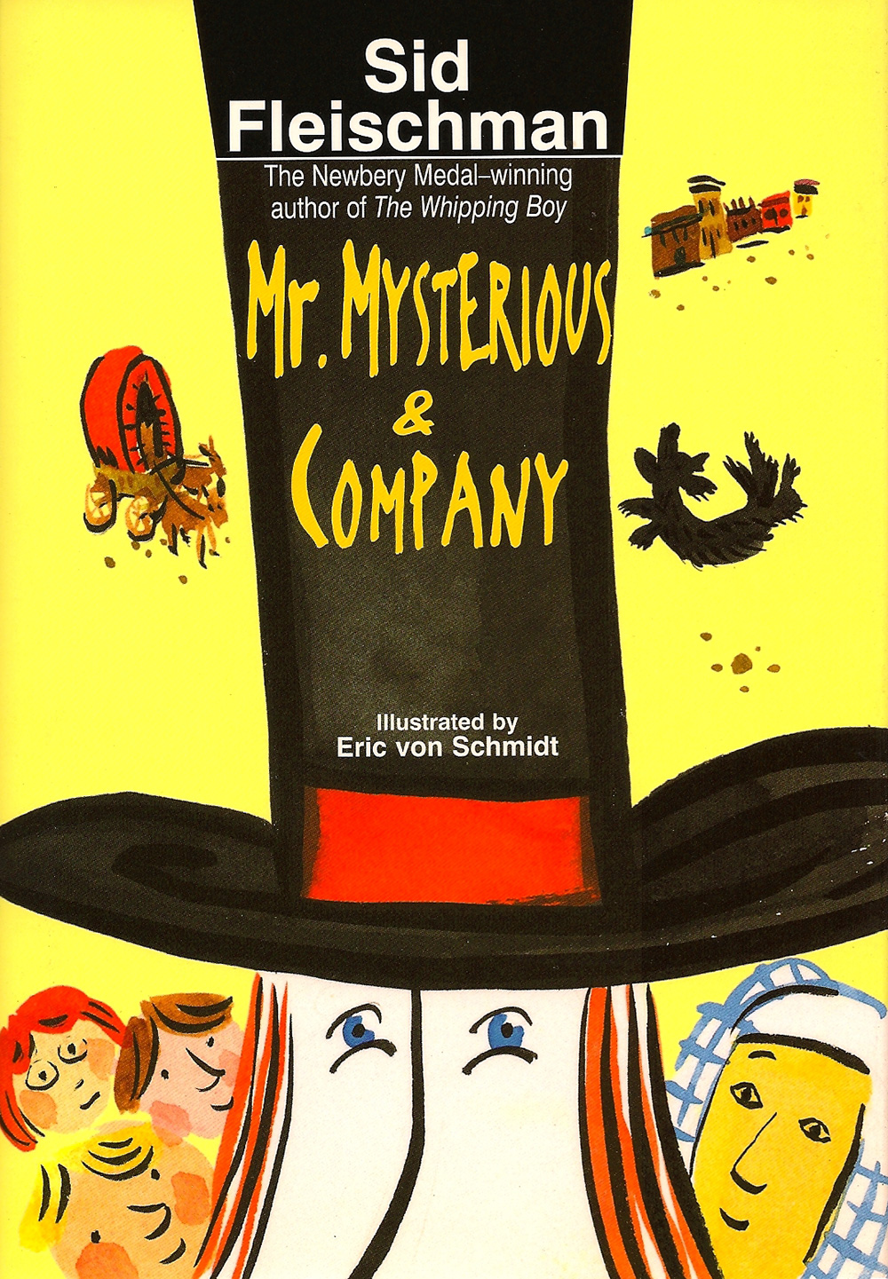 Mr. Mysterious & Company - illustrated by Eric von Schmidt The comic adventures of a magician and his family giving shows from a covered wagon in the Old West.