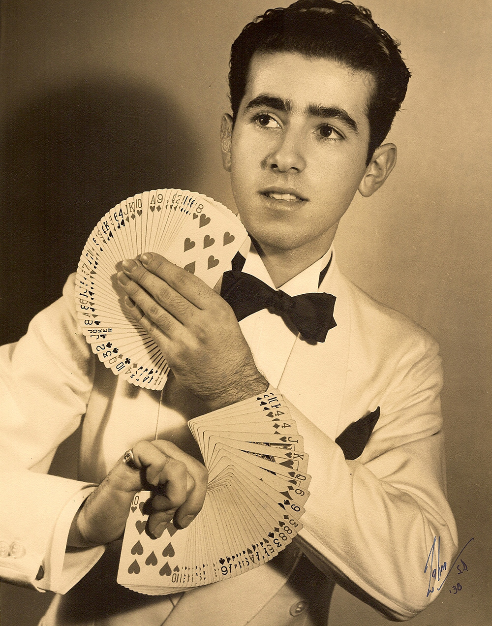 18 year old Sid, professional magician.