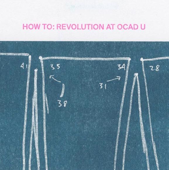 HOW TO REVOLUTION AT OCAD U