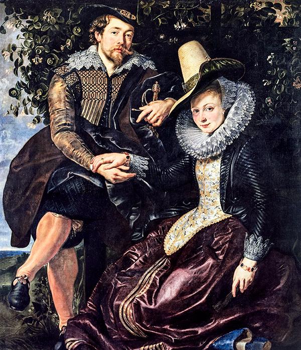 Jan Rubens lebte mit seiner deutschen Frau Maria in Antwerpen. Er war dort als Rechtsanwalt und Schöffe erfolgreich. Bis Religionsunruhen ihn und seine Familie 1568 zur Flucht zwangen.In Siegen, Deutschland, kam 1577 Ihr Sohn Peter Paul zur Welt. Sie wohnten in der Sternengasse 10 in Köln. Jan Rubens war Berater für Anna von Sachsen, der Gemahlin Wilhelms von Oranien.Nach dem Tod des Vaters, zog Maria mit ihren Kindern zurück nach Antwerpen. Als junger Mann widmete sich Peter Paul der Kunst und lernte bei flämischen Malern das Handwerk der Malerei und wurde in der Malergilde zu Antwerpen aufgenommen.Studien in Italien und Spanien ließen seine Malerei vervollkommnen. Hier wurde der Herzog Vincenzo Gonzaga von Mantua auf ihn aufmerksam, der ihn als Hofmaler nach Mantua holte.Seine Karriere, die ihn zu einem der berühmtesten Barockmaler werden ließ, nahm Ihren Anfang. -