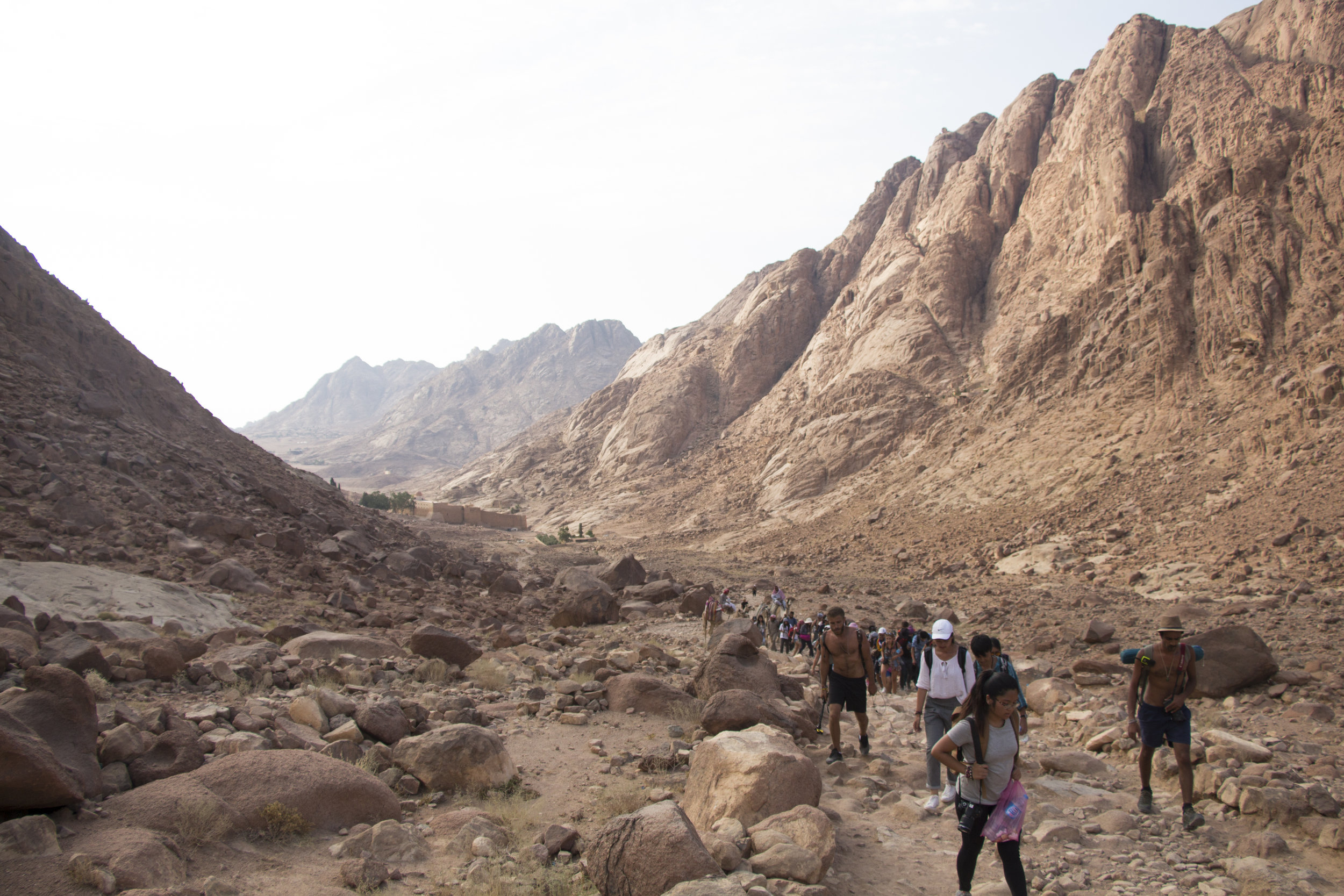First stretch into Mount Sinai. 18th August 2017.