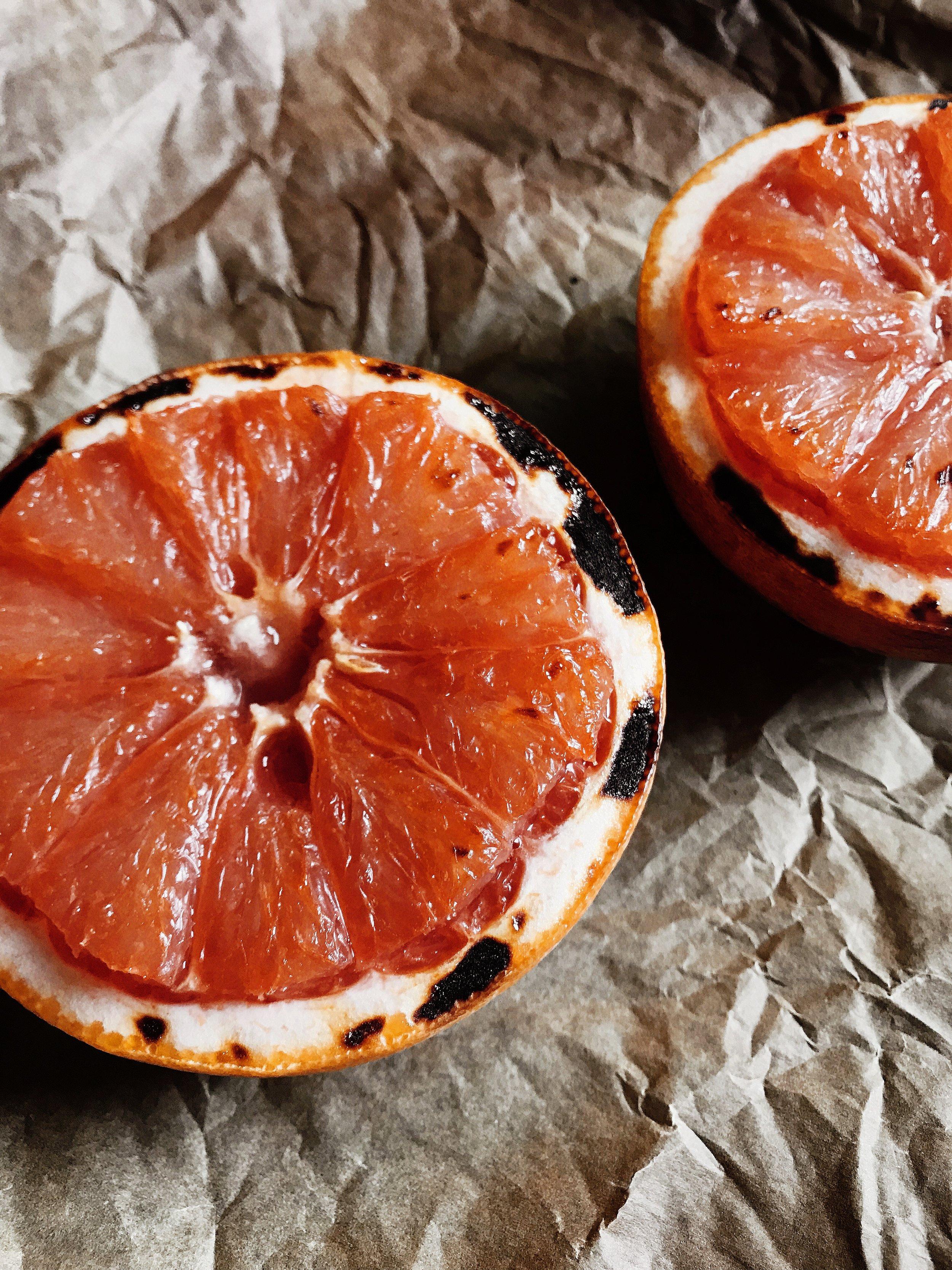 Mālama Mama's Broiled Grapefruit