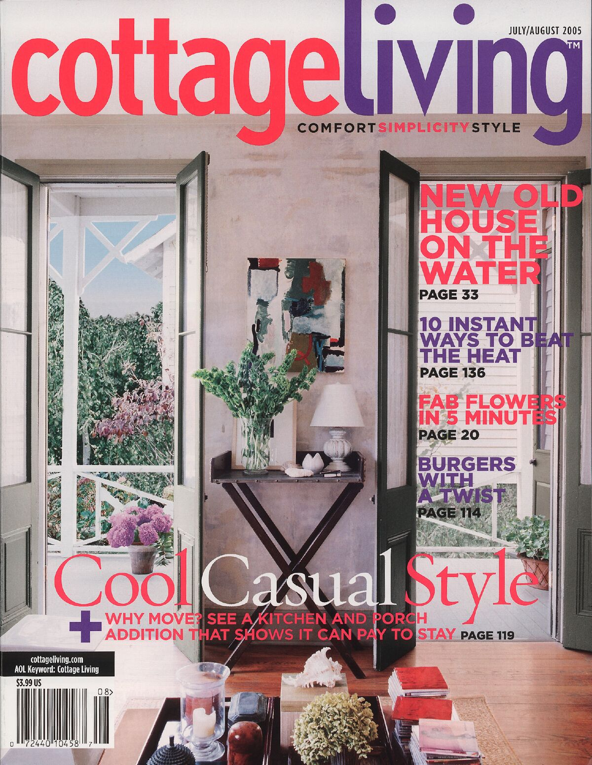 Hidden Potential - Published in Cottage Living, August 2005