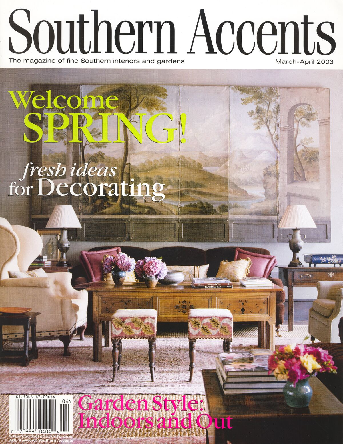 Stoneleigh Farm - Published in Southern Accents, March-April 2003