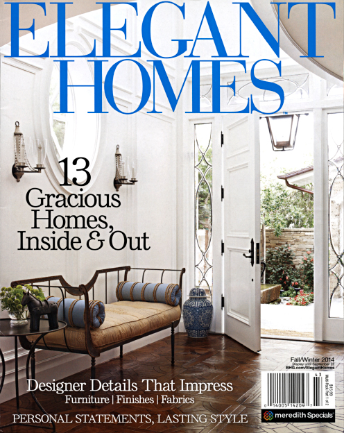 Honest Character - Published in Elegant Homes, Fall-Winter 2014