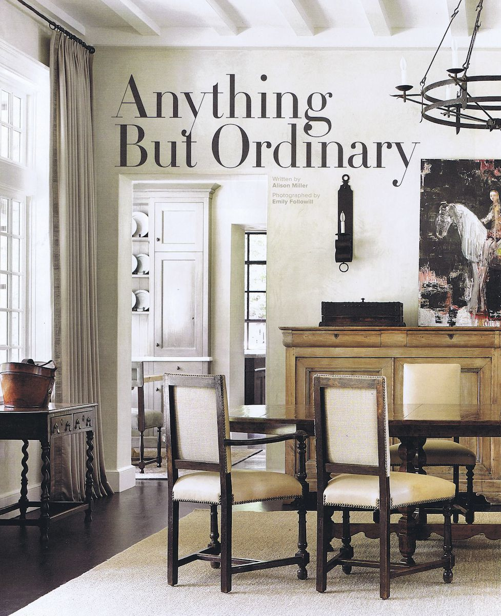 Anything But Ordinary - Published in Atlanta Homes & Lifestyles, Nov. 2013