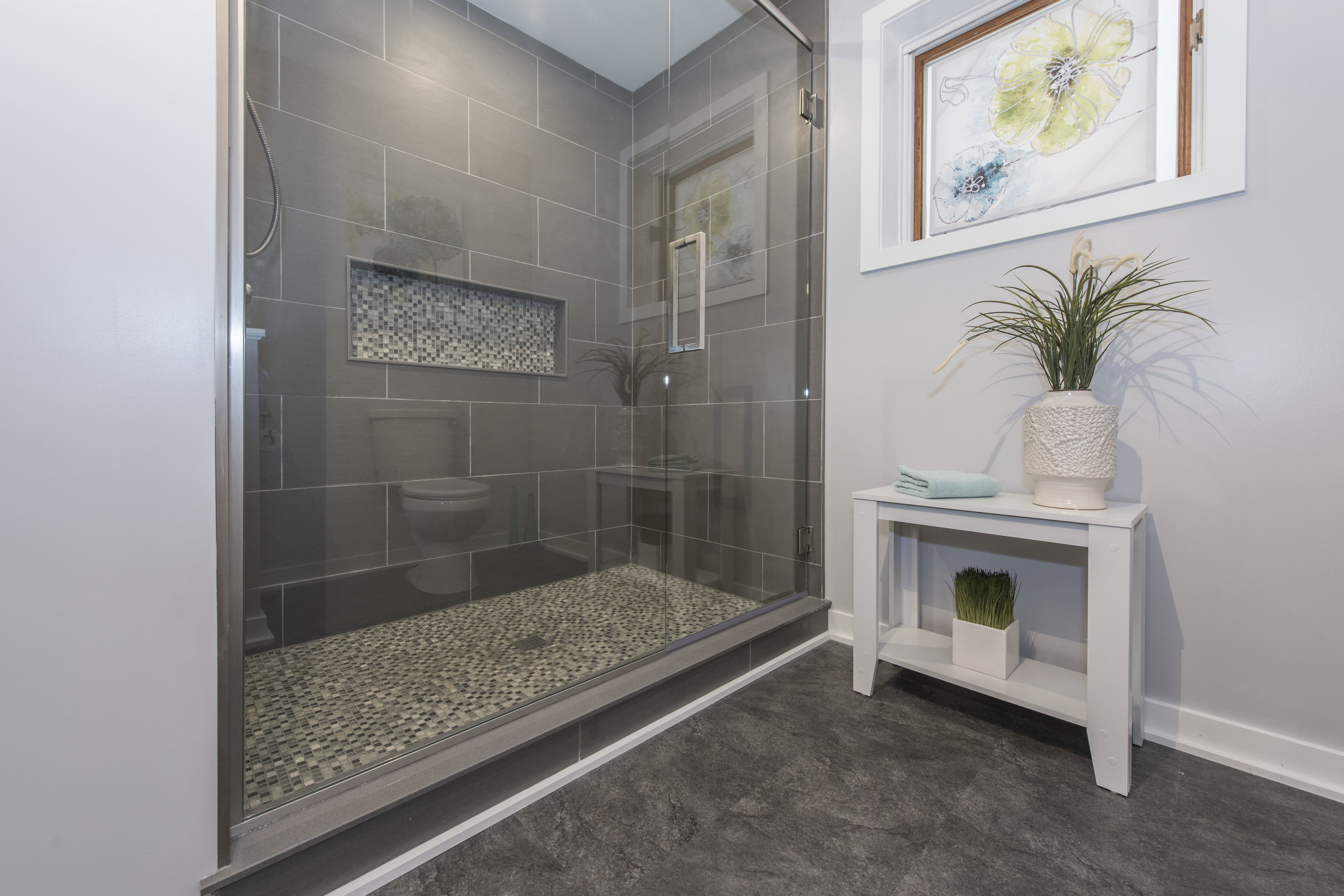 Bathrooms - We can convert any old bathroom into a relaxing retreat with endless possibilities for design and functionality. We work with a number of local suppliers to provide a vast selection of products and materials you can use to create your dream bathroom!