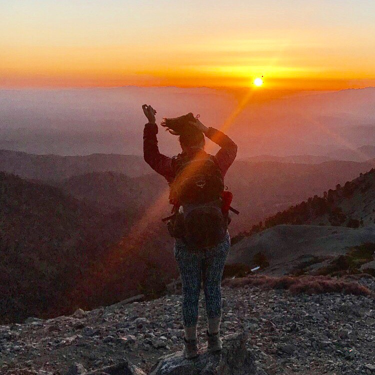 Sunrise vibes over Mt. Baldy