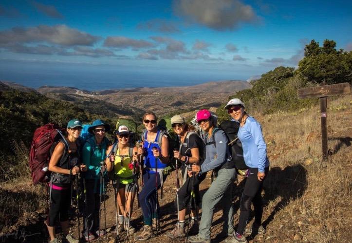 November 2017: GirlsWhoHike TransCatalina Backpacking Trip. A trip of a lifetime...