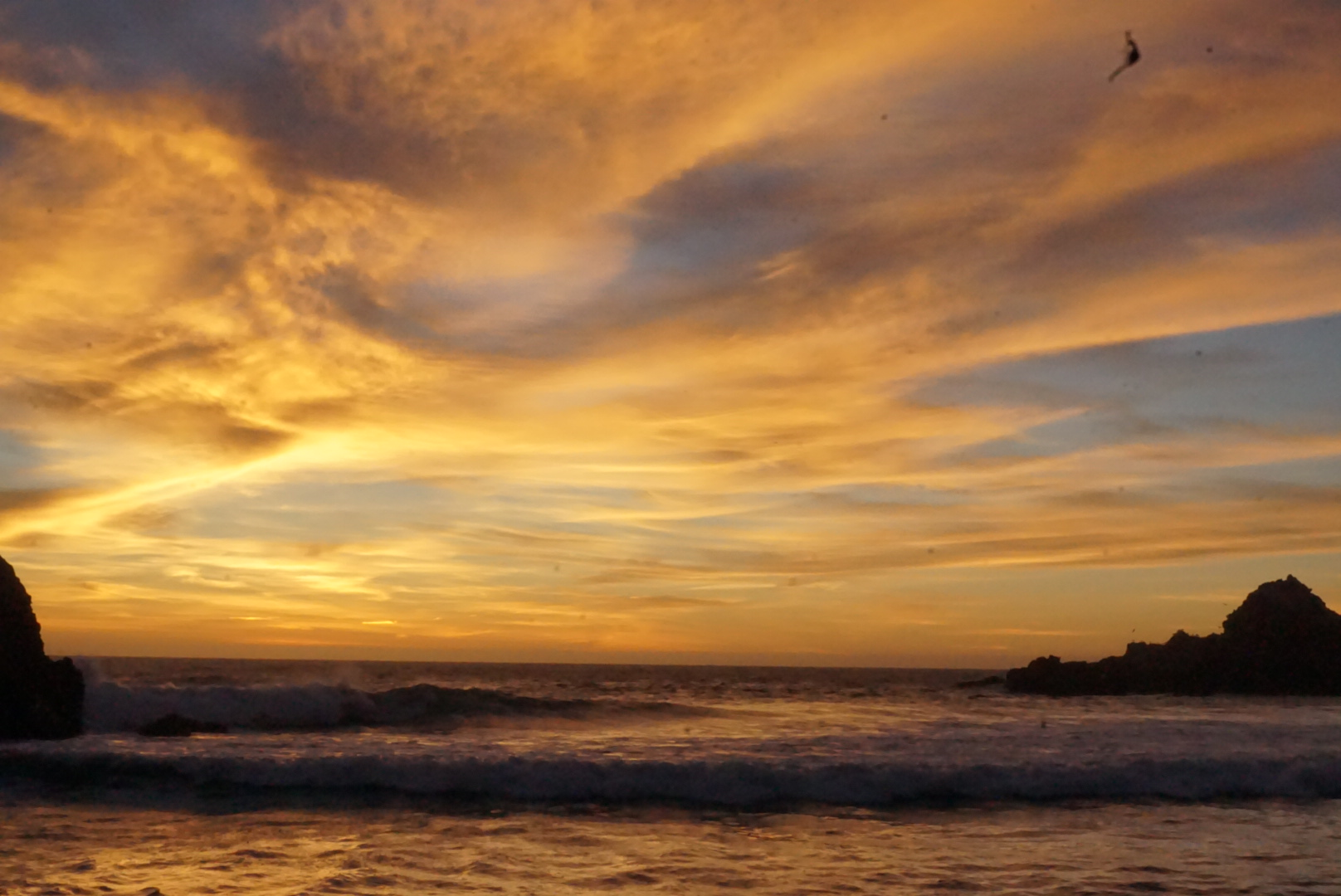 Sunset at Pfeiffer Beach.