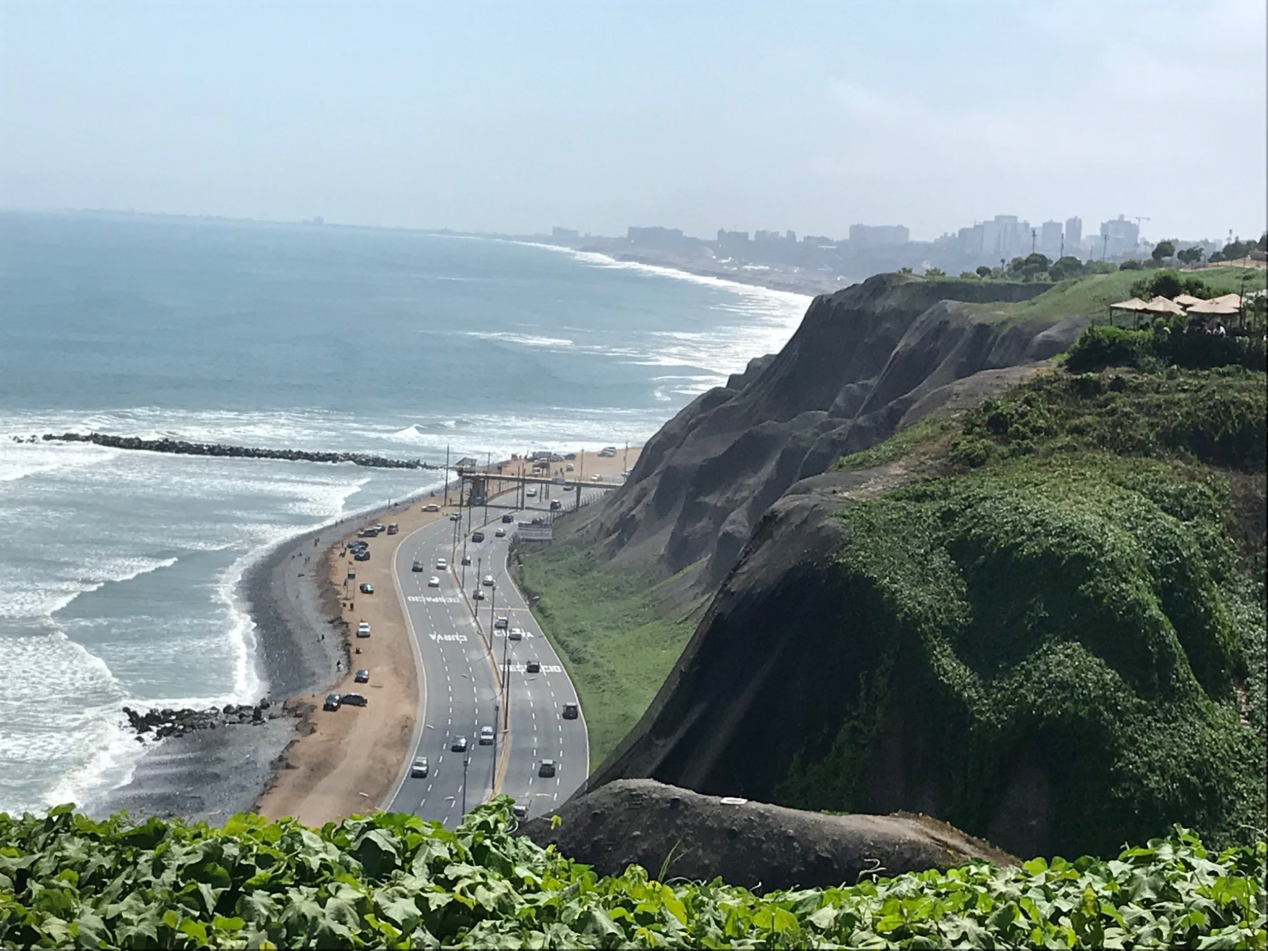 Views of Mira Flores in Lima.